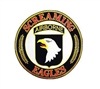 EEI US Army 101st Airborne Patch - PM9035