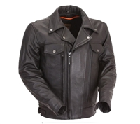 First Manufacturing Utility Cruising Jacket - FIM244BNKDZ