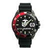 Frontier U.S. Marines Black with Red Analog Watch - 51Q