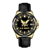 Frontier US Navy Leather Strap Watch - 55C