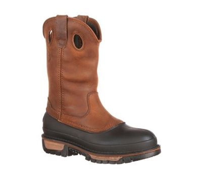 Georgia Boots 11-Inch Wellington Pull On Work Boot - G4434