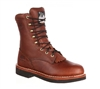 Georgia Boots Walnut 8-Inch Lacer Work Boots - G7014