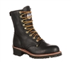 Georgia Black Boots 8-Inch Logger Boots - G8120
