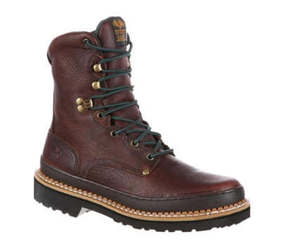 Georgia Boots Mens Brown 8-Inch Giant Work Boot