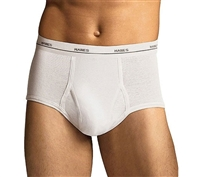 Hanes White Briefs 3-Pack - 2252P3