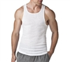 Hanes 3 Pack White Tank Top - 372