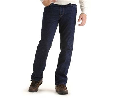 Lee Jeans Regular Fit Dark Stonewash Denim Jeans - 200-8989