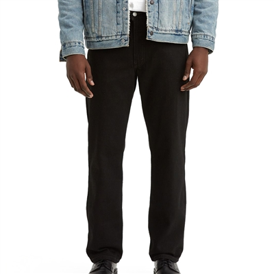 Levis Black Relaxed Fit 550 Jeans - 550-0260