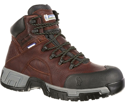Michelin Boots 6-Inch HydroEdge Steel Toe Boot - XHY662
