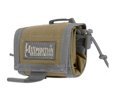 Maxpedition Khaki Foliage Rollypoly Folding Dump Pouch - 0208KF