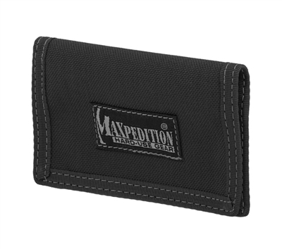 Maxpedition Black Micro Wallet - 0218B