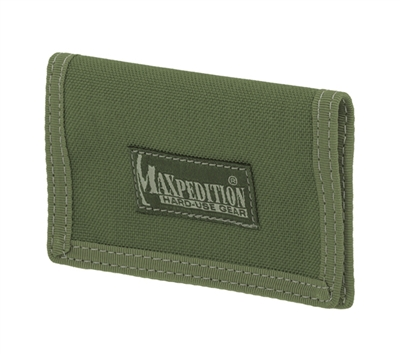 Maxpedition Green Micro Wallet - 0218G