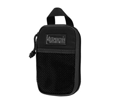 Maxpedition Black Micro Pocket Organizer - 0262B