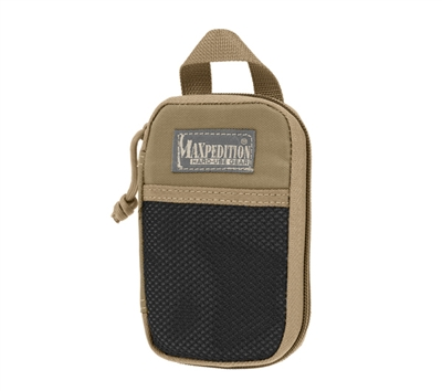 Maxpedition Khaki Micro Pocket Organizer - 0262K