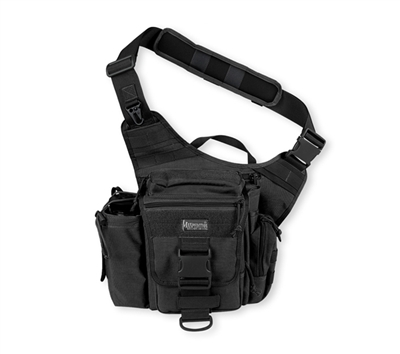 Maxpedition Black Jumbo Versipack - 0412B