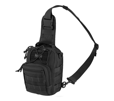 Maxpedition Black Remora Gearslinger - 0419B