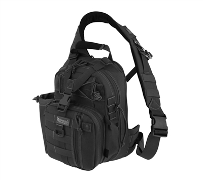 Maxpedition Black Noatak Gearslinger - 0434B