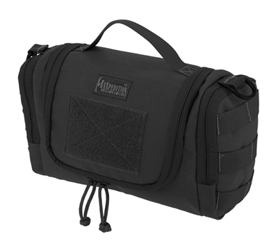 Maxpedition Black Aftermath Compact Toiletries Bag - 1817B