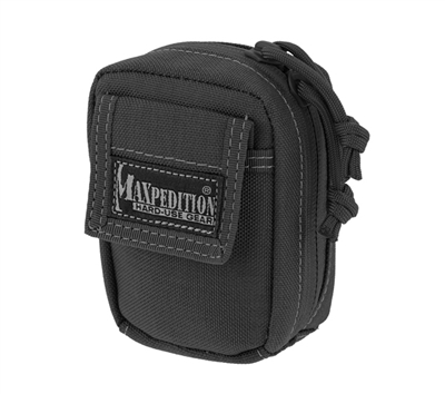 Maxpedition Black Barnacle Pouch - 2301B