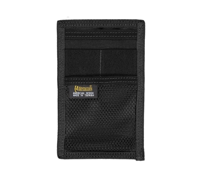 Maxpedition Black Hook and loop Mini Organizer - 3507B