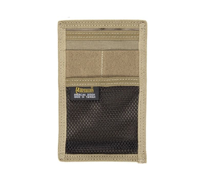 Maxpedition Khaki Hook and loop Mini Organizer - 3507K
