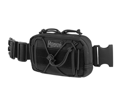 Maxpedition Black Janus Extension Pocket - 8001B