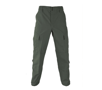 Propper Olive Green Poly Cotton Ripstop Tac U Pants - F521238330