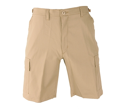 Propper Khaki Casual Short with Zipper Fly - F526155250