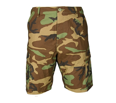 Propper Woodland Camo Short with Zipper Fly - F526155320