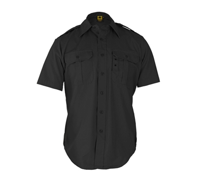 Propper Black Short Sleeve Tactical Dress Shirts - F530138001