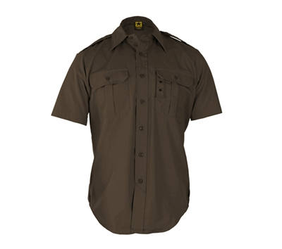 Propper Brown Short Sleeve Tactical Dress Shirts - F530138200