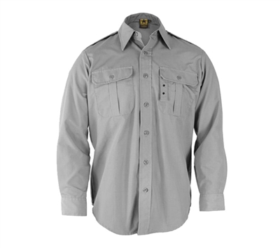 Propper Grey Long Sleeve Tactical Dress Shirts - F530238020
