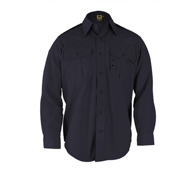 Propper Dark Navy Long Sleeve Tactical Dress Shirts - F530238405