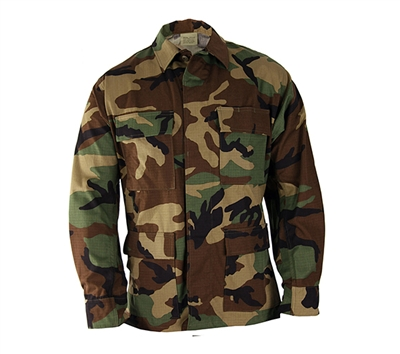Propper Woodland Camouflage BDU Shirt - F545412320