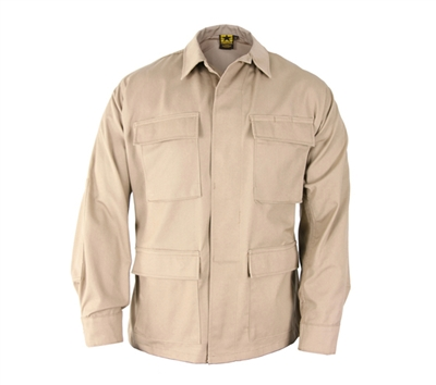 Propper Khaki Cotton Ripstop BDU Coats - F545455250
