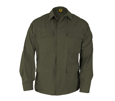 Propper Olive Cotton Ripstop BDU Coats - F545455330