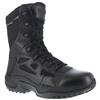 Reebok Mens Black 8-Inch Waterproof Side Zipper Boot