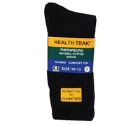 Railroad White Therapeutic Socks - 991-BK
