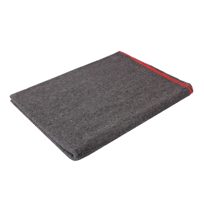 Rothco Grey -  Wool Rescue Blanket - 10429