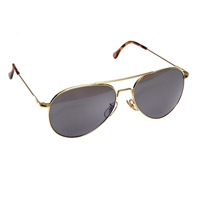 American Optics 58MM Gold Sunglasses - 10702