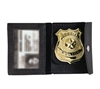 Rothco Black Leather ID and Badge Holder - 1129