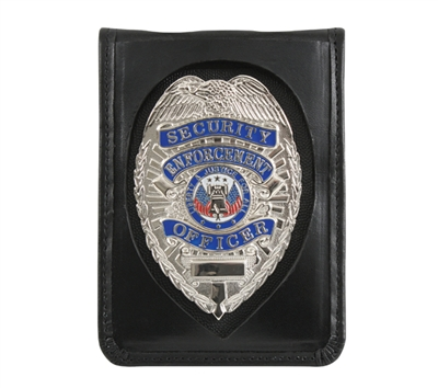 Rothco Leather Neck ID Badge Holder - 1139
