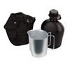 Rothco Black 3pc Canteen Kit - 1141