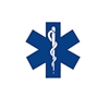 Rothco Ems Emt Star Of Life Decal - 1225
