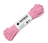 Rothco 100 Feet Rose Pink Nylon Paracord - 125