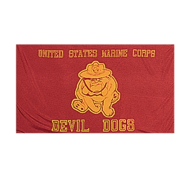 Rothco US Marine Devil Dogs Flag - 1461
