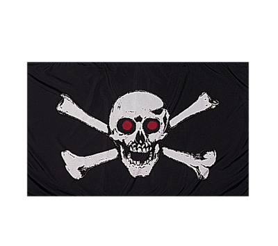 Rothco Red Skull Flag - 1488