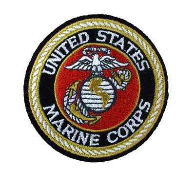 Rothco US Marines Round Patch - 1549