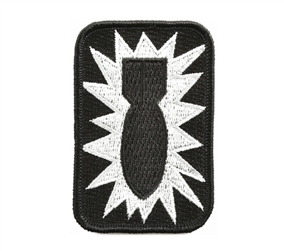 Rothco Bomb Patch Non Hook Back - 1565