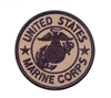 Rothco Coyote Brown USMC Patch - 1585